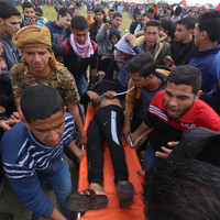 Coveney calls for Israeli restraint after 16 Palestinians killed in clashes