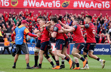 Stunning Andrew Conway try sends Munster into Champions Cup semi-final