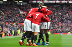 Game of two halves? Mourinho revels in Man United's 'perfect first half'