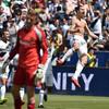 Zlatan nets derby-winning brace - including 40-yard screamer - on MLS debut