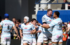 Donnacha Ryan's Racing win in Clermont to set up semi-final clash with Munster