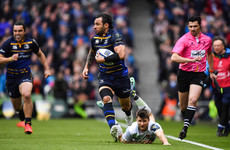 No sign of Nacewa slowing down as Leinster captain continues to defy his years