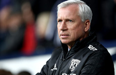 Alan Pardew has been sacked by West Brom after 12 Premier League defeats in 18 games