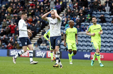 Ireland midfielder Browne misses penalty as Preston slump to defeat