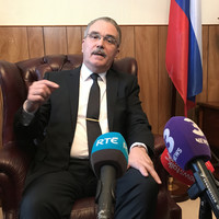 Russian ambassador on expulsion of Irish diplomat: 'Every action finds its counteraction'