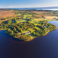 Endless lake views from this cottage once owned by a former Olympian