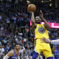 Westbrook outscores Durant in latest duel, but can't stop Warriors winning