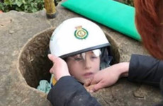 Boy rescued after getting stuck inside stone monument in park in England