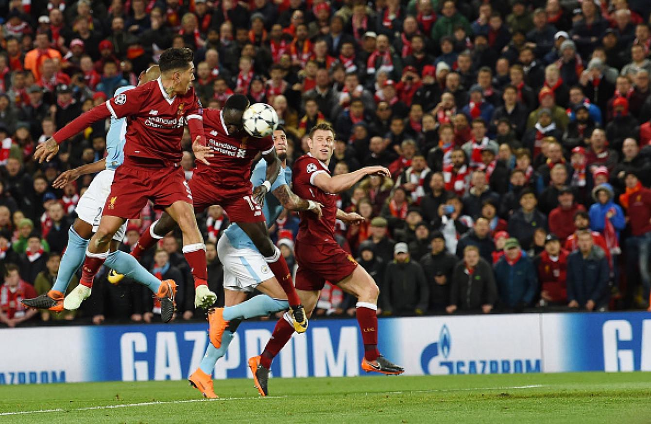 Advantage Liverpool As They Stun Man City With Three-goal