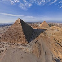 In pictures: An aerial tour of Cairo's pyramids
