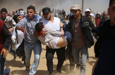 16-year-old Palestinian boy shot dead as Gaza border protests continue