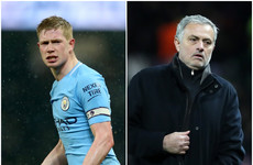 'I only spoke with him twice:' De Bruyne reflects on 'distant' relationship with Jose Mourinho