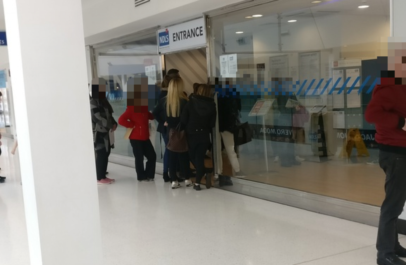 Security called after people refuse to leave Dublin driving