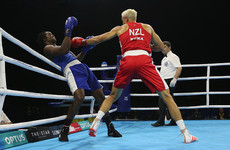 Commonwealth Games boxing champ claims he was bitten in opening fight