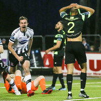 Dundalk finally concede first goal of the season but claim narrow victory over Hoops