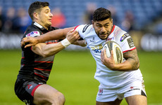 Ulster lift the gloom with big bonus-point win over play-off rivals Edinburgh
