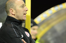 Two hat-tricks and seven goals moves Shels level on top of First Division