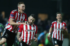 Derry City pick up fourth consecutive league win at Sligo's expense