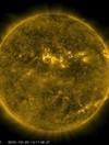Video shows solar flares along Sun's northern hemisphere