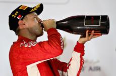 Vettel holds off Bottas to win thrilling Bahrain Grand Prix