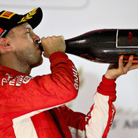 Vettel holds off Bottas to win thrilling Bahrain Grand Prix