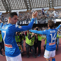 Last-gasp Napoli keep Serie A title ambitions alive in dramatic fashion