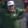 Watch: High-fives all round as Hoffman joins the Masters hole-in-one club