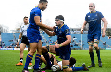 Deegan the latest star turn off the unrivalled Leinster production line