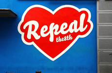 Maser's Repeal The 8th mural is back at the Project Arts Centre