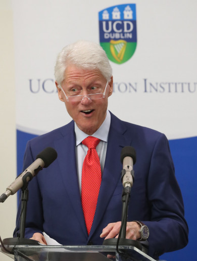 Bill Clinton on sleepless nights in 1998, Bertie trying to keep him up till dawn and Northern Ireland's similarities with Black Panther