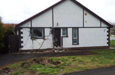 Tractor driven into house in 'shocking' crime
