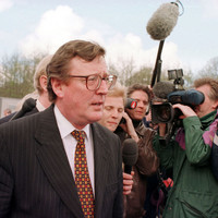 David Trimble just aimed a sly dig at the Taoiseach