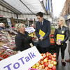 Harris takes his message to Moore Street: 'Men need to talk to the women in their lives about the Eighth Amendment'