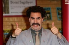 Video: Kazakhstan calls for 'thorough investigation' of Borat anthem error