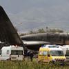 More than 250 killed as military plane crashes in Algeria