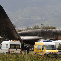 More than 250 killed as military plane crashes in Algeria