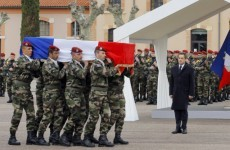 Girlfriend of murdered French soldier to wed posthumously