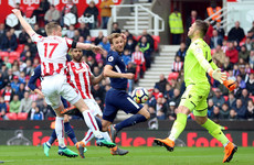 Kane awarded contentious goal against Stoke, but Mo Salah isn't having it