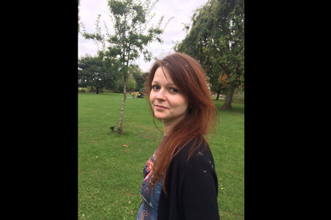 An image of Yulia Skripal taken from Yulia Skipal's Facebook account last month.