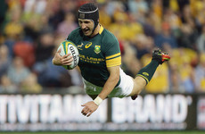 Springbok out-half Goosen returns from 'retirement' against Munster