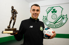 Joy of six as Burke named Player of the Month