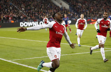 Arsenal survive major scare in Moscow to advance to Europa League semi-finals
