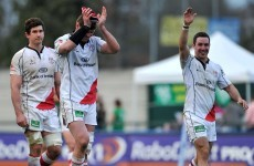 Late D'Arcy try helps Ulster scrape past Treviso
