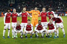 Arsenal paired with Atletico Madrid in Europa League semi