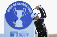 Dunne surges into three-shot lead in Spain after stunning second round