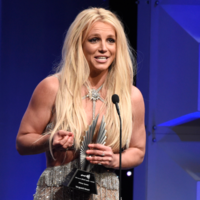 Britney Spears received a standing ovation after talking about what it means to be accepted