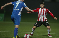 Another win for Derry as defender Doyle the Brandywell's hero against Waterford