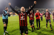 'That was one of the best nights in my League of Ireland career'