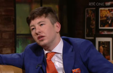 "Actor Barry Keoghan: '13 foster homes. If that's on paper you'd think ""he's destined to mess up""'"