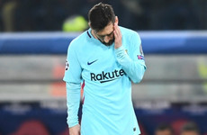 Messi 'sad and low' after Champions League exit - Valverde